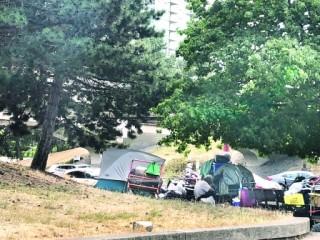 温市唐人街建临时屋收容无家者 政府先斩后奏来不及表态