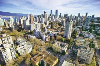 温哥华市中心公寓单价 全球排名第11位,