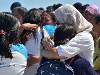 印尼地震现场:难民四处逃命 仿佛世界末日